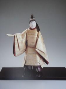 『久方の」木芯桐彫塑和紙貼装4C