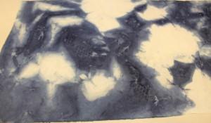 西田作品 藍染