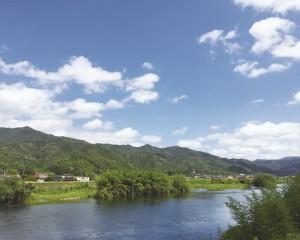 ①徳地を流れる 佐波川I